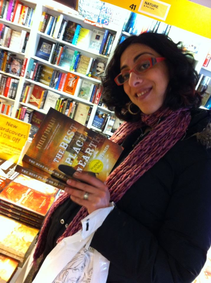 A year ago today! Signing books at Book City on the Danforth