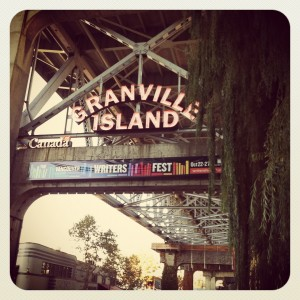 Granville Island, home to the Vancouver Writers' Fest.