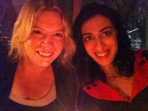 At the Vancouver Writers' Fest with Theodora Armstrong